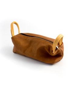 Penfodral i läder
